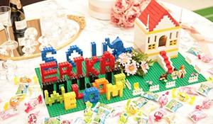 レゴブロックのウェルカムボードで手作り感を演出しよう!