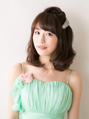 ミディアム髪型1