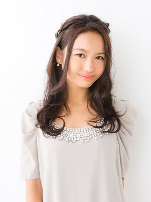 ロング髪型2