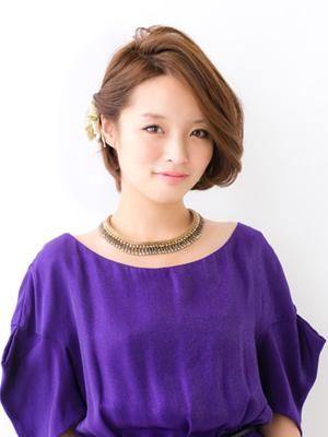 ショート髪型1