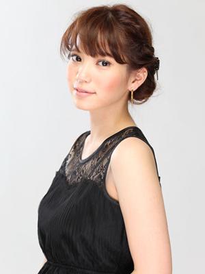 ミディアム髪型3